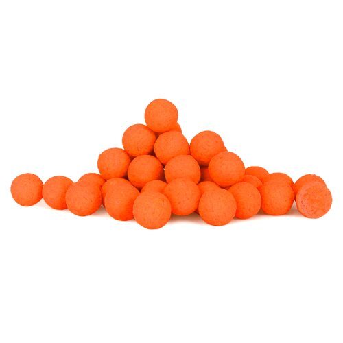 Pop Up Fluo orange Boilie 15 mm 75 g