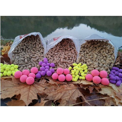 Pop Up Fluo pink Boilie 15 mm 75 g